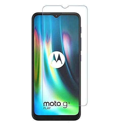 Hifad Case Tempered Glass for Motorola Moto G9 Screen Guard protecter