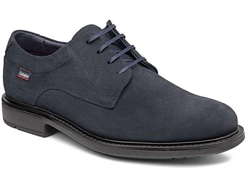 CALLAGHAN - Zapatos DE Piel Ante con Cordones Color: Azul