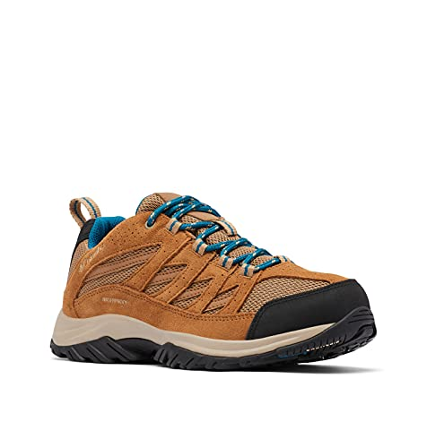 Columbia Women's Crestwood Waterproof Boot Hiking Shoe, Sahara/Siberia, 5