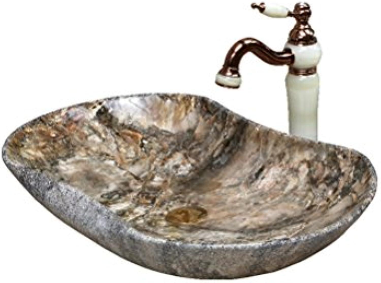 Persnlichkeit geformte Waschbecken über Zhler Basin groe Gre über Zhler Basin Art Basin (66,5 x 41,5 x 11,5 cm) Waschpltze