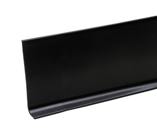 M-D Building Products 73896 4-Inch by 60-Feet Dry Back Vinyl Wall Base, Black