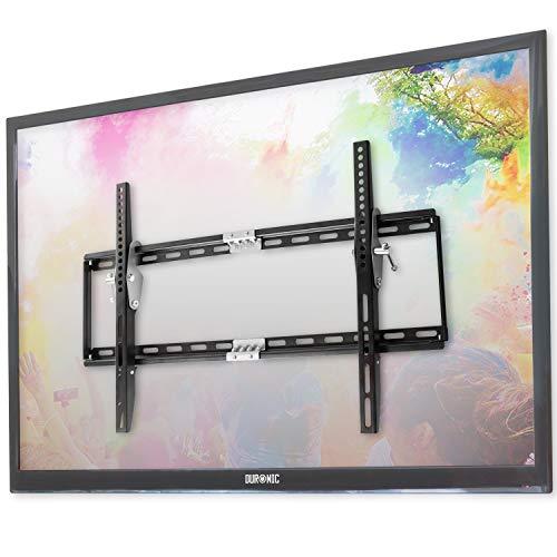 Duronic TVB777 Soporte TV de Pared Fijo Ultra Delgado para Pantalla LED, LCD, Plasma - Monitor de 33' a 60' Pulgadas hasta 40 kg -Solo Compatible con VESA 600 x 400