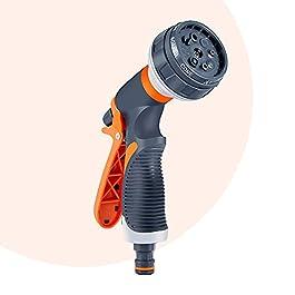 Pistolet d'arrosage, Pistolet Arrosoir, Jardin Pistolets, 8 Modèles D'irrigation Réglables Pistolet d'Arrosage Jardin,3…