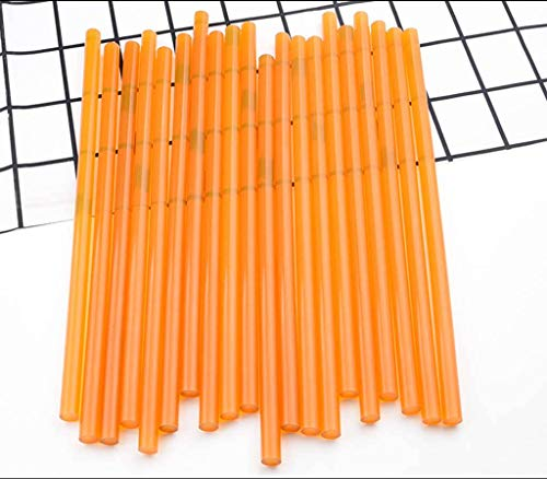 SINKITA Yellow/Hot Glue Sticks/Mini Hot Melt Adhesive Glue Stick For DIY Art Craft-7 * 270mm