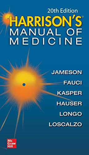 Harrisons Manual of Medicine, 20th Edition (Harrison's Manual of Medicine)