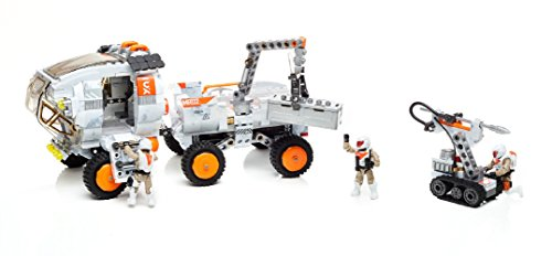 Mega Construx Probuilder Space Rover Expedition Buildable Playset (706 Pieces)