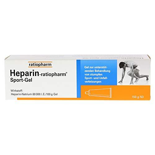 Heparin-ratiopharm Sport Gel, 150 g