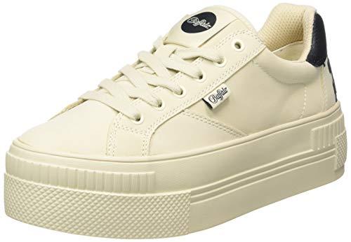 Buffalo Damen PAIRED PL Sneaker, Cream, 37 EU