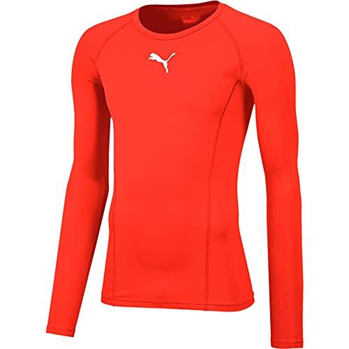 PUMA Herren LIGA Baselayer Tee LS Shirt, Red, M