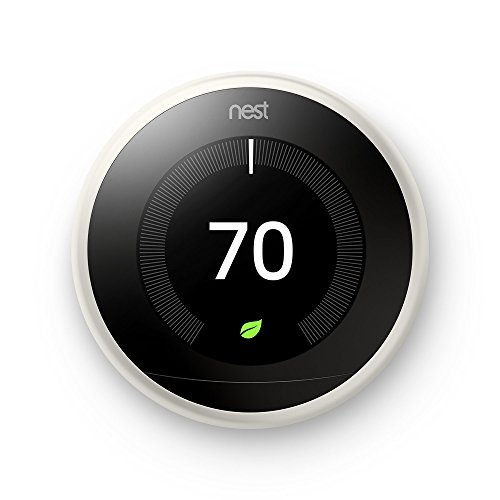 Nest Learning Thermostat 3rd Generation White 2 Pack (T3017US)