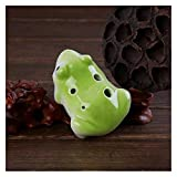 DINGGUANGHE-CUP 6 Holes Ocarina Cartoon Flute Wind Musical Instruments Flute Ceramic Flauta for Childen Toy Ocarina Piccolo (Color : Light Green Frog)