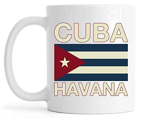 Cuba Havana Lustroso Cerámica Taza Mug Glossy Mug Cup