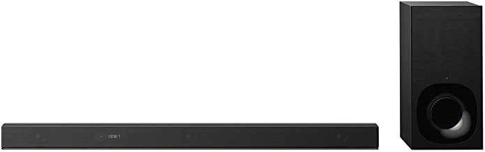 Sony Z9F 3.1ch Sound bar with Dolby Atmos and Wireless Subwoofer (HT-Z9F), Home Theater Surround Sound Speaker System for TV