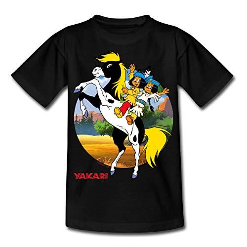 Spread Camiseta Yakari pequeño Trueno–Camiseta infantil