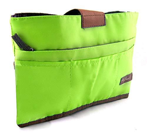 Periea Handtaschenordner, Einlage, Einsatz 10 Taschen groß 28x16.5x7cm- Tolla grün
