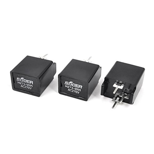Aexit 3 x Fixed Resistors TV Degaussing Send Electronic Resistance 9 Ohm Single Resistors 270V MZ73-9RM