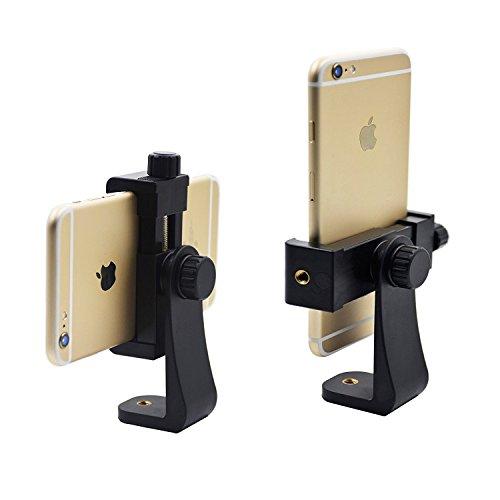 Aoonar ll078 Universal Smartphone Adapter, Holder Mount for iPhone/Samsung Galaxy/Google Nexus, Use on 1/4-20 Tripod, Monopod, Selfie Stick