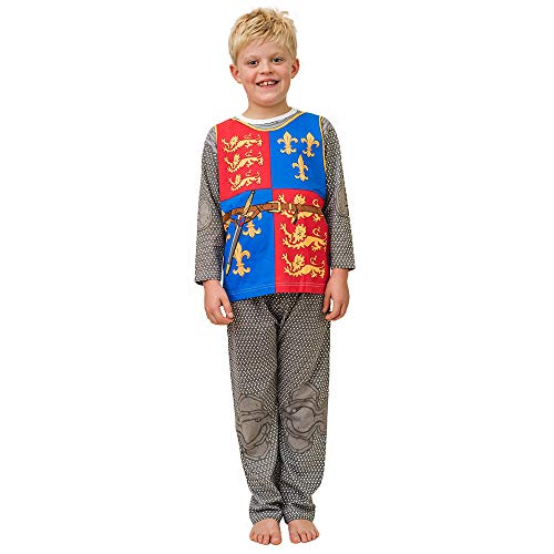PLAY'N'WEAR Königliche Ritter-Pyjamas & Lustige Homewear (5-6 Jahre)