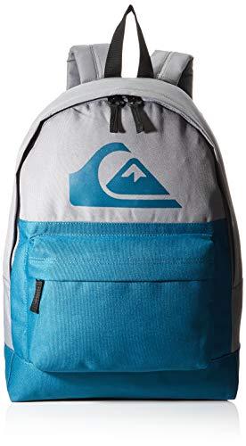Quiksilver Everyday Backpack Color Block, Mochila. para Hombre, Quiet Shae, Einheitsgröße