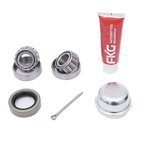 FKG Trailer Bearing Kit for 3/4 Inch Straight Spindle