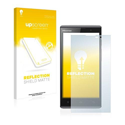 upscreen Entspiegelungs-Schutzfolie kompatibel mit Hisense Sero 5 L691 – Anti-Reflex Bildschirmschutz-Folie Matt