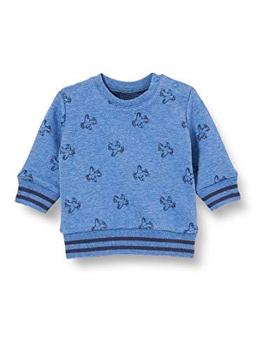 bellybutton Baby-Jungen Sweatshirt T-Shirt, Allover|Multicolored, 80