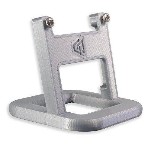 Ständer für Hive Thermostat V2mit Schrauben–silber oval p3d-lab