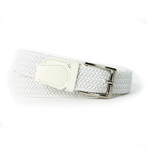 Glamexx24 Dames elastische stoffen riem gevlochten 25 mm elastische riem elastische riem vrouw