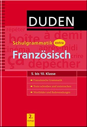 Duden - Schulgrammatik extra - Französisch (Duden - Schulwissen extra)