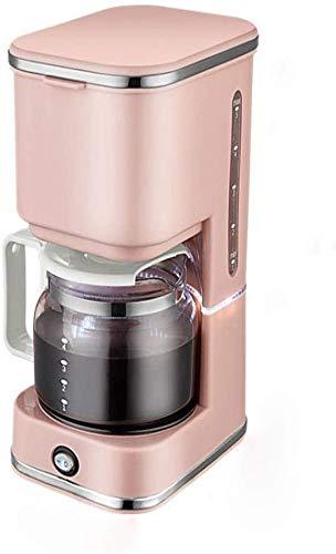 CHNFF praktische koffiefilter, 550 W, anti-druppel design, afneembaar filter en verwarmingselement, houdt 40 minuten, 5 bekers, gratis, zwart