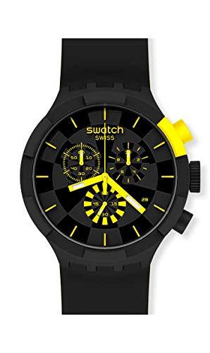 Orologio Swatch Big Bold Chrono SB02B403 CHECKPOINT YELLOW
