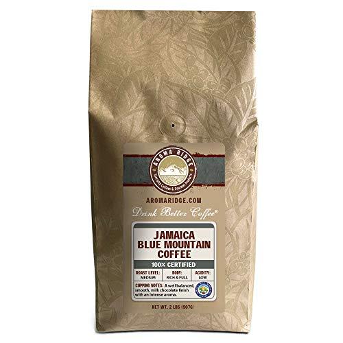 Aromaridge freshly Roasted Coffee 2lbs, Jamaica Blue Mountain Coffee (wholebean)