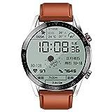 2021 Bluetooth Call Smartwatch Hombres Fitness Tracker 4g Tarjeta de memoria Reproductor de música 260mah Reloj inteligente con batería grande para Android Ios