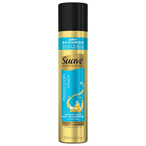 Suave Professionals Dry Shampoo, Moroccan Infusion Weightless, 4.3 oz