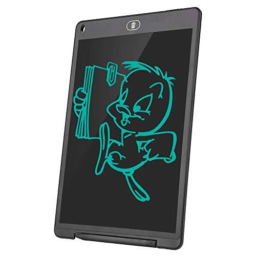 12-inch LCD-schrijftablet, digitale ewriter-krabbelbord met wisvergrendelingsfunctie, handschriftblok voor kinderen met grafische tablet en pen