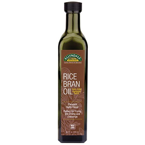 NOW Foods, Rice Bran Oil, 100% Pure for Superior Taste, Pleasant Nutty Flavor, Perfect for Frying, Stir-Fry, and Dressings, Certified Non-GMO, 16.9-Ounce