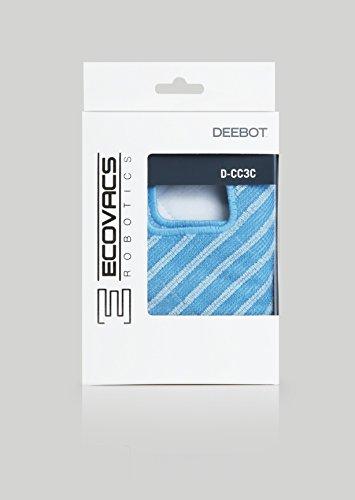 Ecovacs D-CC3C Mopa de Limpieza Seca, plástico, azul y gris