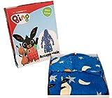 Accappatoio con cappuccio Originale BING BUNNY anni 2 3 4 5 100% Spugna di puro cotone Bimbo Bimba Bambina Bambino (4/5 anni)