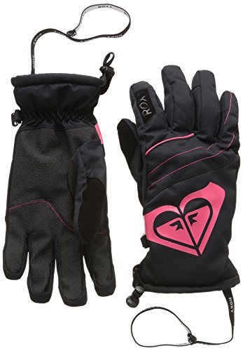 Roxy POPI Gants Femme, Anthracite, FR : M (Taille Fabricant : M)