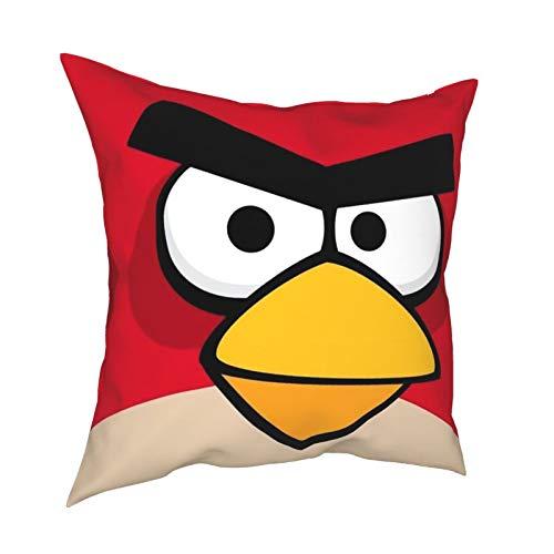 Pillow Cover Bohemia Design Pillowcover Case Protector Dark Blue Decorative Square Pillowcase Angry Birds