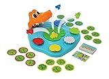 TOMY Geschicklichkeitsspiel für Kinder 'Schnappi Kroko' mehrfarbig - hochwertiges Kinderspielzeug -...