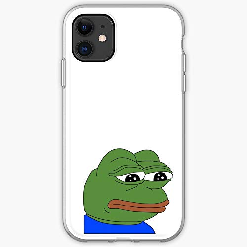 Rare Pepe Funny Sad Love Tumblr Frog I Fsgblockchain-Phone Case for All of iPhone 12, iPhone 11, iPhone 11 Pro, iPhone XR, iPhone 7/8 / SE 2020… Samsung Galaxy