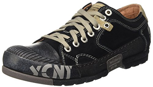 Yellow Cab Herren Mud M Sneaker, Schwarz (Black 000), 47 EU