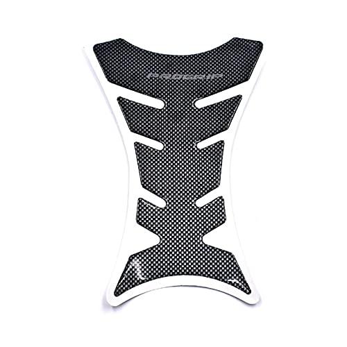 JIUZHEBA Für Ducati Diavon 2011-2018 DIAVEL AMG Carbon Dark Strada Titanium 2015-2017 Protektor Anti Slip Tank Pad Aufkleber Gas 3m Aufkleber (Color : Tank Decal)