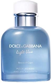 Dolce & Gabbana Light Blue Pour Homme Beauty of Capri Eau de Toilette 4.2oz (125ml) Spray