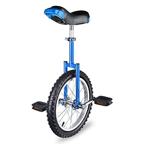 AW 16' Inch Wheel Unicycle Leakproof Butyl Tire Wheel Cycling Outdoor Sports Fitness Exercise Health Blue