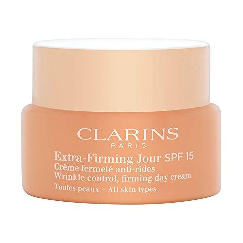 Clarins Extra Firming Crema Giorno Liftante Anti-Rughe con SPF 15, 50 ml