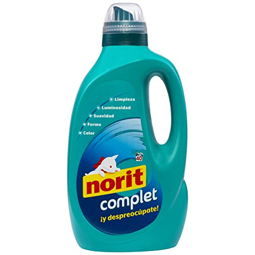 NORIT Complet - Detergente Líquido, 40 Lavados, 2 L