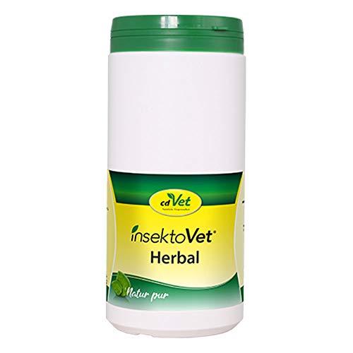 cdVet InsektoVet Herbal 750 g - natürliche Nahrungsergänzung für Hunde mit Vitaminen, Mineralstoffen und Spurenelementen zur Unterstützung des Hautstoffwechsels und Abwehrfunktion der Haut