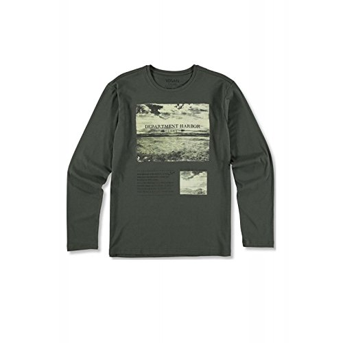 losan - Camiseta Manga Larga Sport 1018AA - Cafe, 4XL